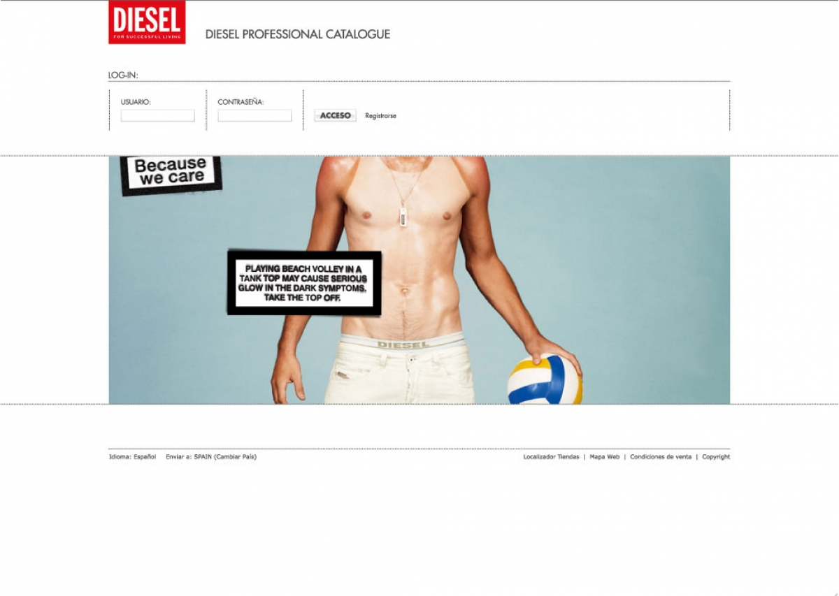 Dealernet Diesel Iberia screenshot