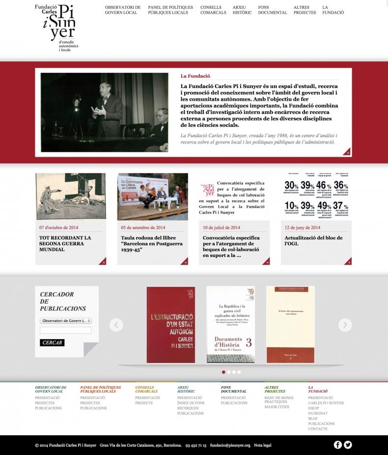 Fundació Carles Pi i Sunyer screenshot