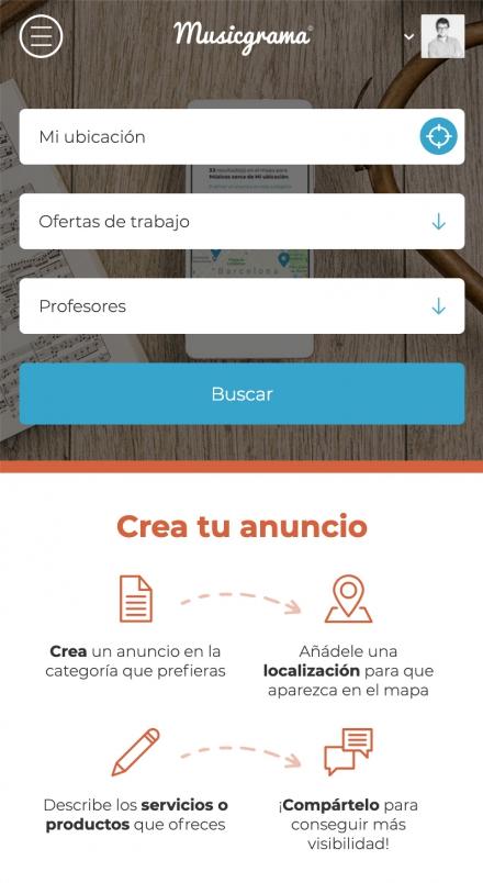 Musicgrama screenshot